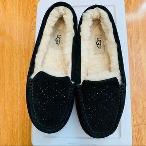Ugg Australia Rhinestone Sheepskin Slippers